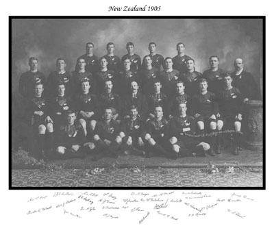 NEW ZEALAND - ALL BLACK RUGBY MEMORABILIA